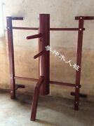 Wall Hanging Wing Chun Wooden Dummy Chinese Martial Arts Kung Fu Exercise Fedex