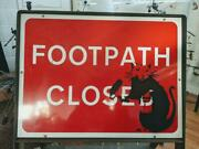 Banksy Road Sign 2014 Rare Items Found In England