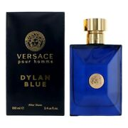 Versace Pour Homme Dylan Blue By Versace 3.4 Oz After Shave For Men