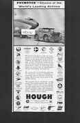 Lufthansa Boeing 707 1961 Hough Paymover Tractors Choice Of Leading Airlines Ad