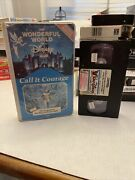 Call It Courage 1973 / Legend Of Boy And The Eagle Vhs Walt Disney Clamshell Rare