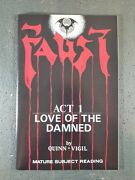 Faust Act 1, Love Of The Damned, Signed, High Grade