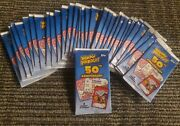 33 Unopened Packs Lot Wacky Packages 50th Anniversary Non Sports Cards Collect
