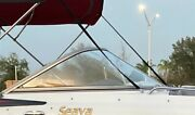 Starboard Curved Glass Windshield Off 2010 Bennington Southwind 22and039 - Glass Only