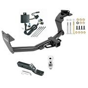 Complete Package W/wiring Kit And 2 Ball Trailer Hitch For Kia Sorento V6 Engine