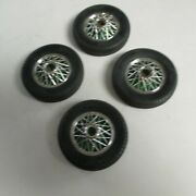 Hubley Duzie Wheels And Tires 4 Pcand039s Very Good Shape
