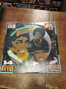Michael Jackson And The Jackson 5 14 Greatest Hits Picture Disc Lp And Poster Oop