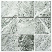 Mosaic Tile Ceramic Stone Look Structure Gray Mirror Tiles Kitchen Mos22-hwa9gy