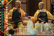 Present Toys 1/6 Jesse Pinkman And Walter White Breaking Bad Pt-sp26 12and039and039 Figure