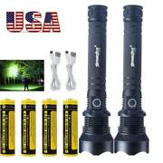Us 990000lumens Zoom Xhp70 Led Flashlight Usb Rechargeable Torch Super Bright
