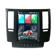 11.8 Android Tesla Vertical Screen Gps Radio For Infiniti Fx35 Fx45 2004-2008