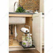 Kitchen Cabinet Pullout Removable Cleaning Caddy Under Sink Rollout With Handle