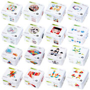Travel Tin Box Baby Wooden Building Jigsaw Puzzles Tangram Toy Y1