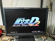 Sega Naomi 2 Console With Initial D 2 Arcade Stage Tested Working
