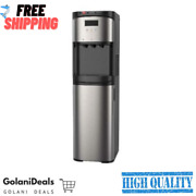 Water Dispenser For 5 Gallon Bottle - Hot And Cold Water Cooler - Stainless Steel