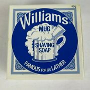 Williams Mug Shaving Soap 49g Vintage