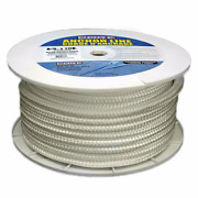 Core Marine Products Boat Anchor Line Alndb-58200w   5/8 Inch X 200 Ft White