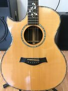 Nh Pickup Taylor 914-c Lefty Cutaway Acoustic Electric 1997