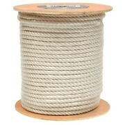 Attwood Boat 3 Strand Twisted Rope 117579-1   3/4 X 600and039 White Roll