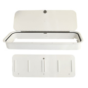Hydrasports Boat Battery Tackle Box Hs50089110   41 X 15 1/8 Inch White