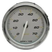 Faria Boat Tachometer Gauge Tc8146a | Portsmouth Oversized Silver