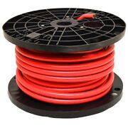 Smart Boat Marine Grade Battery Cable | 3/0 Awg Red 100 Ft Tinned