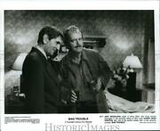 1992 Press Photo Jack Nicholson And Harry Dean Stanton In Man Trouble - Orp00444