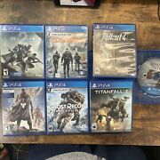 Playstation 4 Bundle Destiny 12 Divisionfallout 4titanfall 2 Ghostrecon