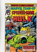 Marvel Team Up Spider-man And The Incredible Hulk 54 Feb 1977 Bronze Age Comic
