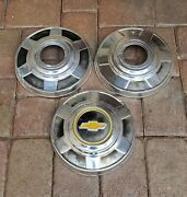Chevrolet Vintage Oem Factory Hub Wheel Center Covers 4x4