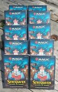 10x Magic The Gathering Strixhaven School Of Mages 15-card Collector Booster Box