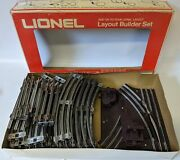 Large Lot Of Lionel 027 Gauge Track And Pair Of Manual Switches For Train Layouts
