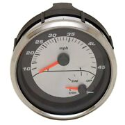 Faria Boat Multifunction Gauge Gsc060a | 4 3/8 Inch Silver Black