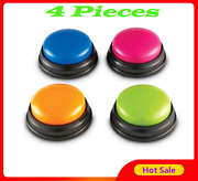 Button Phonograph Talking Interactive Buzzers Child Answer Recordable Toy Sound