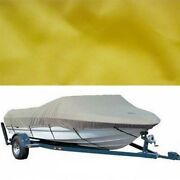 Tracker 142349 Yellow 2008 Tahoe 225 Dowco Boat Traveling / Mooring Cover