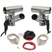 Corsa Performance Boat Exhaust Diverter 82281-500   4 Inch Stainless Steel Kit