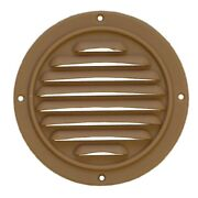 Jet Technologies Almond 3 7/8 Inches Plastic Boat Air Conditioner Vent Ac Cover