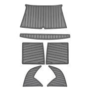 Sea Ray Boat Adhesive Floor Pad 2080787 | Storm Gray / Black 6pc