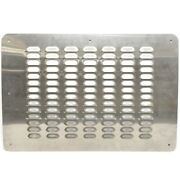 Avalon Boat Vent Panel 129029   23 1/2 X 16 Inch Stainless Steel