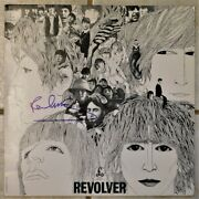 Paul Mccartney Signed Revolver Album Perry Cox Loa