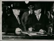 1935 Press Photo Clay County Rogers Pross I Cross At Nellie Tipton Muench Trial