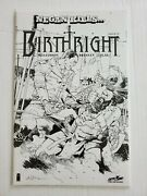 Birthright 17, High Grade, Never Read, Sdcc Exclusive Sketch Variant