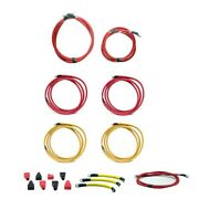 Standard Red 18 Ft / Yellow 16 Ft 2/0 Awg Boat 17 Piece Battery Cable Kit