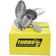 Precision Tosi145017l4 Turbo Osi Yamaha 14 1/2 In X 17 Pit Ss Boat Propeller