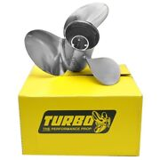 Precision Propeller Tosii150018l Turbo Osii Yamaha 15 In X 18 P Boat Propeller
