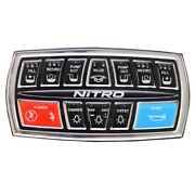 Nitro Boat Dash Keypad Assembly 176694 | W/ Fuse Block Zv21 2015