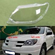 For Mitsubishi Outlander Headlight Glass Cover Headlamp Lens Lampshade Shell New