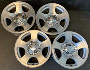 4 Ford F-150 F150 Pickup Expedition Wheels Rims + Caps 16