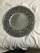 Wilton William And Mary Pewter 13 3/8 Serving Plate Platter
