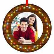 Our First Christmas Engaged Ornaments 2020 3 Personalized Christmas Photo